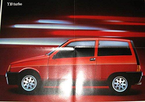 Amazon.com: 1986 Lancia Autobianchi Y10 Turbo Brochure Poster: Entertainment Collectibles