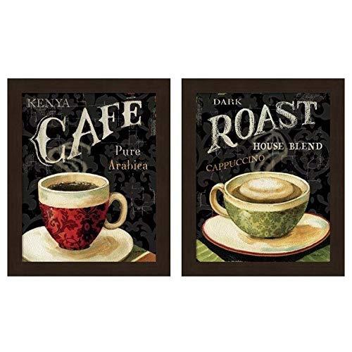 Metaverse Lisa Audit 'Today's Coffee' Framed Art (Set of 2) ()