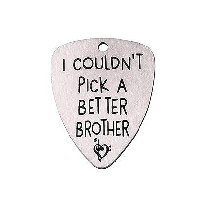 Púas para guitarra con grabado de Healifty I Pick YOU con letras talladas para ukelele,