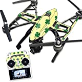 MightySkins Protective Vinyl Skin Decal for Yuneec Q500 & Q500+ Quadcopter Drone wrap cover sticker skins Lucky You