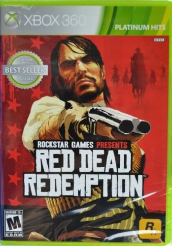 Xbox 360 Platinum Hits Red Dead Redemption