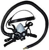 SAS Safety 9813-70 Low Maintenance Supplied-Air Halfmask, Medium