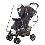 Alphabetz Stroller Rain Cover, Weather Shield, Clear, Universal Size Deal