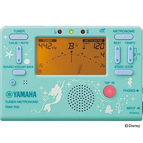 야마하 (YAMAHA) 디즈니 튜너 메트로놈 아리엘 인어공주  TDM-700DARL