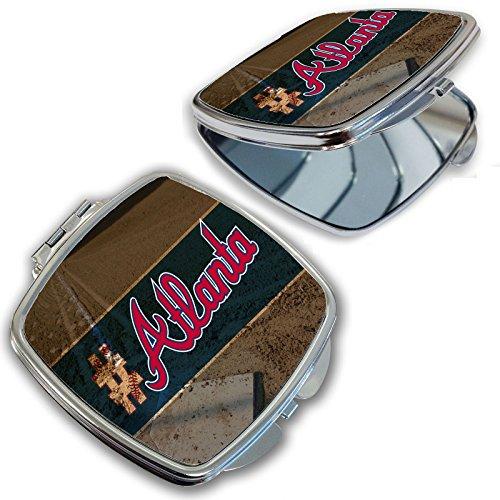 BleuReign(TM) Hashtag Atlanta #Atlanta Baseball Team Compact -
