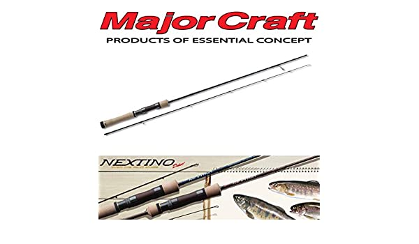 Major Craft Nextino Series Spinning Rod NTS 622 L (1273): Amazon ...