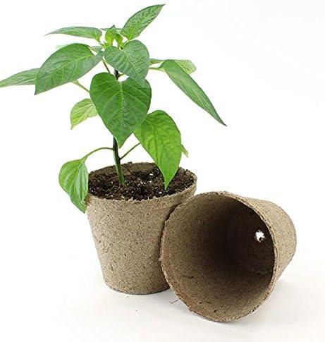 Jiffy 4 Round Peat Pots – OMRI LIsted Organic – 100ct