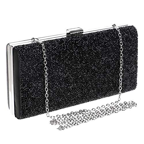 Ladies Banquet Appunti Acquisti Shoulder Diamonds Clutch Qjxsan Bags Night Cosmetici Messenger Dinner Black Package 4dg1XXCwq