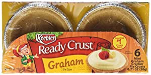 Keebler Ready Crust, Graham Cracker, Mini 3-Inch Tart, 0.17 oz 6 count
