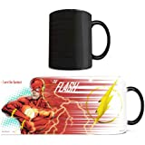 Morphing Mugs DC Comics Justice League (Flash) Ceramic Mug, Black