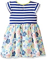 Marmellata Girls' Knit and Floral Dress