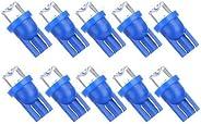 10 X T10 W5W 168 194 Blue LED Car Side Light Bulb Lamp