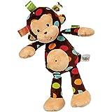 Mary Meyer Taggies Dazzle Dots Soft Toy, Monkey