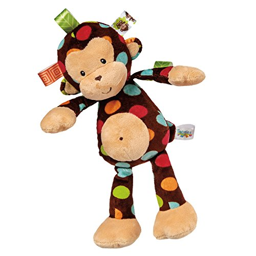 (Taggies Dazzle Dots Soft Toy, Monkey)