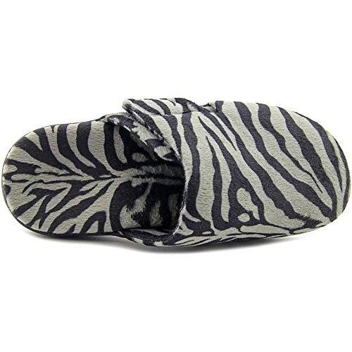 Orthaheel - Zapatillas de estar por casa para mujer Grey Zebra 3