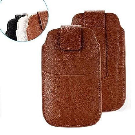 Etui pour ceinture universel pour téléphone portable et smartphone en faux  cuir pour iPhone 4  067da846e12
