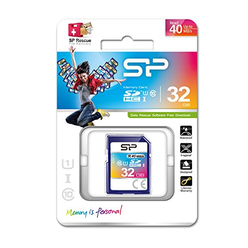 Silicon Power 32GB SDHC Memory Card Class 10 by Silicon Power (Image #1)