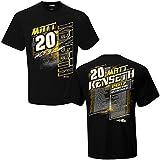 NASCAR 2017 Drivers Schedule Racing T-Shirt (#20 Matt Kenseth, Medium)