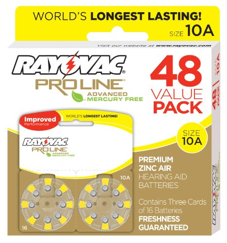Rayovac Mercury Free Advanced Batteries