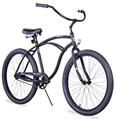 Enjoy a lighter, more efficient ride with this 26-inch single-speed Urban Man Alloy cruiser bike from Firmstrong, which features a fully aluminum frame that weighs about 15 pounds less than Firmstrong' s standard steel frame. Pedaling is easi...
