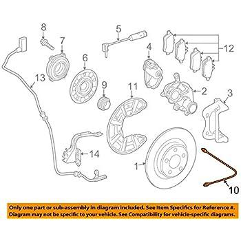 Mercedes-Benz 171 428 00 35 Disc Brake Hydraulic Hose