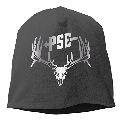 pse-bow-hunting-deer-buck-s-platinum-style-beanies-cap-black