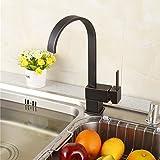 Yodel Modern Kitchen / Wet Bar Sink Faucet, Oil Rubbed Bronze