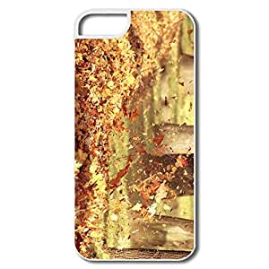 Custom Section Non-Slip Autumn Wind IPhone 5/5s Case For Birthday Gift
