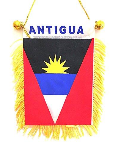 Antigua Flag Mini car Window Design Small Antigua car Flag from Small Antigua flag car window design
