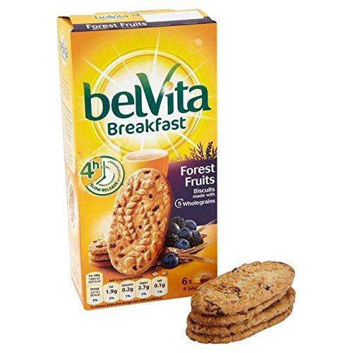 Belvita, Ontbijtkoekjes met bosvruchten, 6 x 50 g