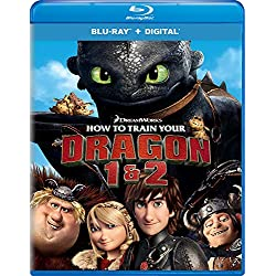 How to Train Your Dragon 1 & 2 [Blu-ray]