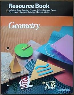 Mcdougal littell jurgensen geometry resource book geometry mcdougal littell jurgensen geometry resource book geometry grade 10 by robert h cornell 1990 01 01 amazon books fandeluxe Gallery