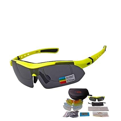 Amazon.com: ZJXHAO Gafas de sol deportivas para ciclismo ...