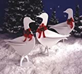 A Woodworking Pattern and Instructions Pkg to Build Your Own Holiday Honkers