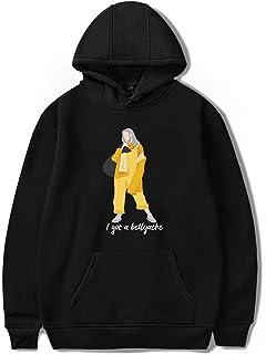 a4766cbff SIMYJOY Billie Eilish Bellyache Hoodie Pullover Hiphop Street Fashion  Oversized Sweatshirt