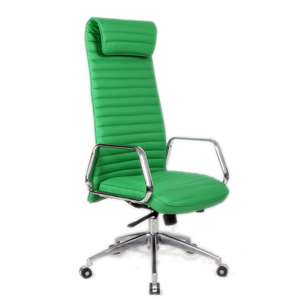 Amazon Com Fine Mod Imports Ox Office Chair High Back Green