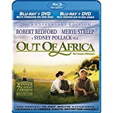 Out of Africa: 25th Anniversary (Blu-ray/DVD Combo) (1985)
