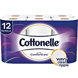 Cottonelle Ultra ComfortCare Toilet Paper, Soft Bath Tissue, 12 Big Rolls