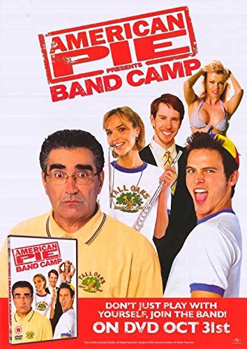 American Pie Presents Band Camp Poster Movie Tad Hilgenbrink Arielle Kebbel Jason Earles