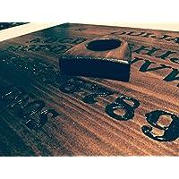 Tabla Ouija de madera grabada Hecha a mano
