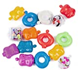 Sassy Shake and Rattle Pop Beads Toy- 15 Piece
