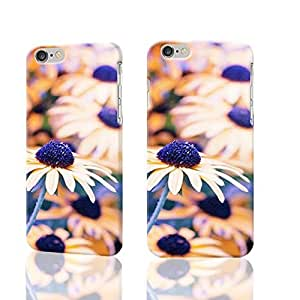 yellow purple daisies autumn fall Photo Plastic Hard Customized Personalized 3D Case For iphone 5s