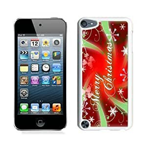 Recommend Design Merry Christmas White iPod Touch 5 Case 46 by Maris's Diary