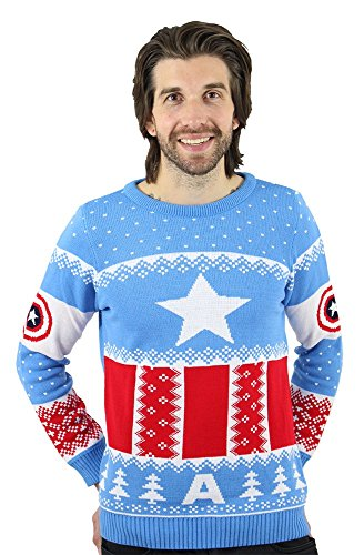 Captain America Christmas Sweater