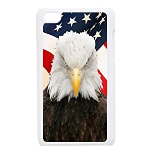 Bald Eagle Unique Fashion Printing Phone Case for Ipod Touch 4,personalized cover case ygtg578643