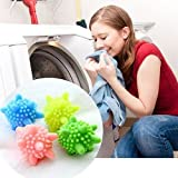 Money coming shop Random Color Reusable Washing Machine Cleaning Remove Stains Clothes Wash Laundry Ball Sanitary