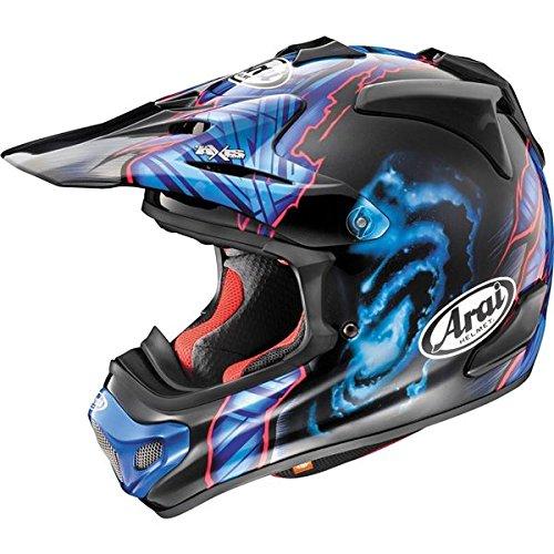 Arai VX-Pro 4 Barcia Black/Blue Motocross Helmet - X-Large