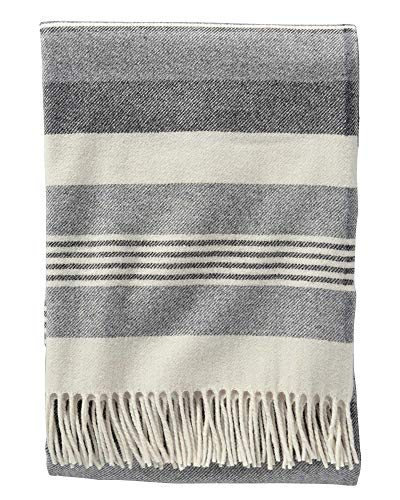 k Horizon Stripe Lambswool Throw ()