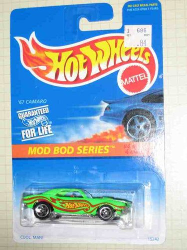 hot wheels camaro 1967 - 6