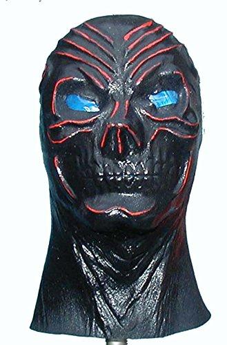 Black Skull Realistic Foam Latex Skull Mask